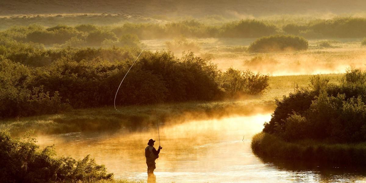Ennion William, guide de pêche à la mouche dans la région de